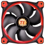 Кулер для кейса Thermaltake Riing 12 LED Red, Чёрный