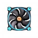 Кулер для кейса Thermaltake Riing 14 LED Blue, Чёрный