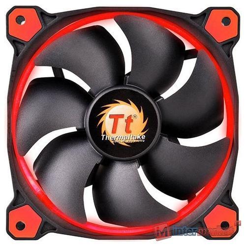 Система охлаждения для корпуса Thermaltake Riing 14 LED Red, Чёрный