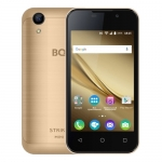 "Смартфон BQ-4072 Strike Mini Pink Gold 4""/800x480WVGA/SC7731C, 4 ядра/1+8Gb/5+2MP/1300 мА/3G /"