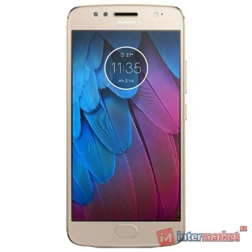 Смартфон Motorola Moto G5s 3/32GB Gold