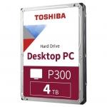 "Жесткий диск HDD 4Tb TOSHIBA P300 SATA 6Gb/s 5400rpm 64Mb 3,5"" HDWD240UZSVA"